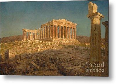 The Parthenon, 1871 Metal Print