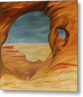 The Partition Arch Metal Print by Christiane Schulze Art And Photography