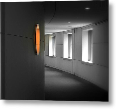 Metal Print featuring the photograph The Peabody Essex Museum by Laura DAddona