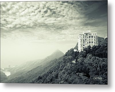 The Peak Metal Print by Joseph Westrupp