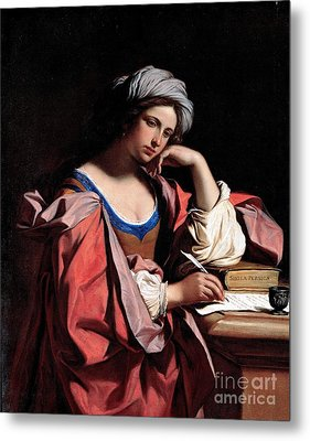 The Persian Sibyl Metal Print by Pg Reproductions