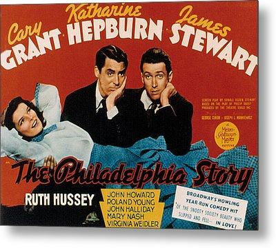 The Philadelphia Story, Katharine Metal Print by Everett