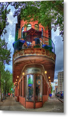 Metal Print featuring the photograph The Pickle Barrel Chattanooga Tn Art by Reid Callaway