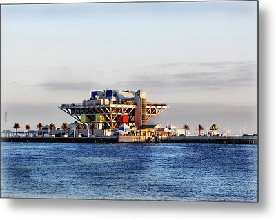 The Pier Metal Print by Amanda Vouglas