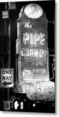 The Pipe Corner Metal Print
