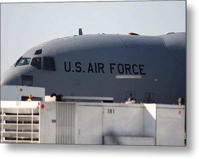 Metal Print featuring the photograph The Plane by Michael Albright