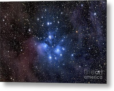 The Pleiades, Also Known As The Seven Metal Print by Roth Ritter