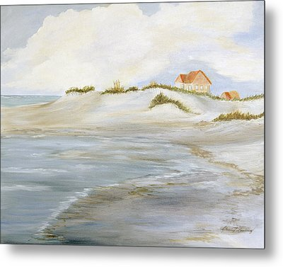 The Point Metal Print by Shirley Lawing