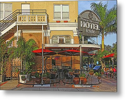 The Ponce De Leon Hotel Metal Print