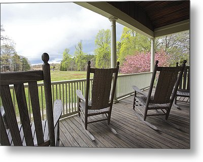 The Porch  Metal Print