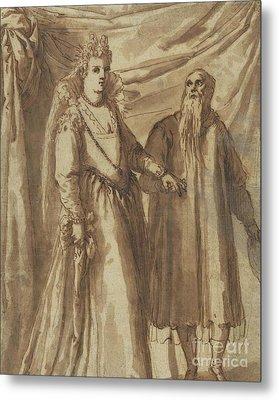 The Presentation Of The Bride Metal Print