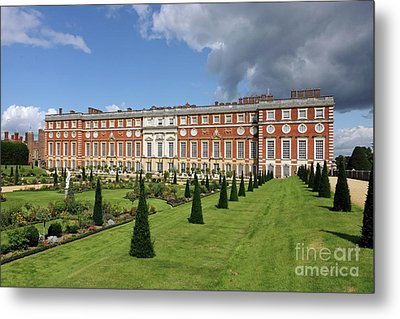 The Privy Garden Hampton Court Metal Print