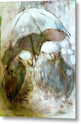 The Protection Of Friendship Metal Print by Eleatta Diver