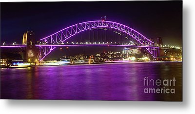 Metal Print featuring the photograph The Purple Coathanger By Kaye Menner by Kaye Menner