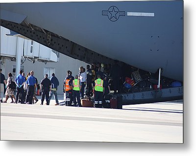 Metal Print featuring the photograph The Rescue by Michael Albright