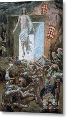 The Resurrection Metal Print by Tissot