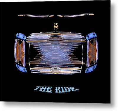 The Ride Metal Print
