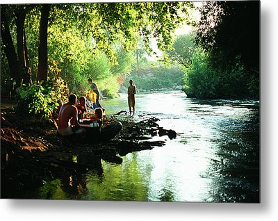 Metal Print featuring the photograph The River by Dubi Roman