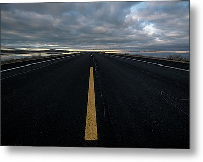 The Road Metal Print by Justin Johnson