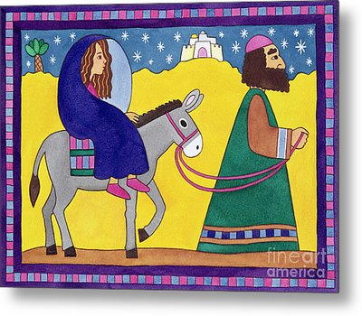 The Road To Bethlehem Metal Print by Cathy Baxter