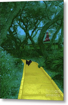 The Road To Oz Metal Print