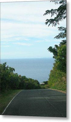 Metal Print featuring the photograph The Road by Votus