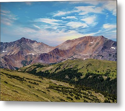 Metal Print featuring the photograph The Rockies by Bill Gallagher