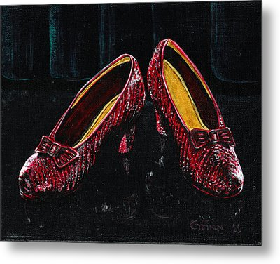 The Ruby's Metal Print