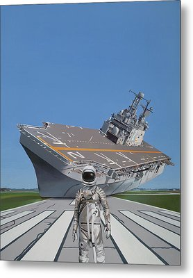 The Runway Metal Print by Scott Listfield