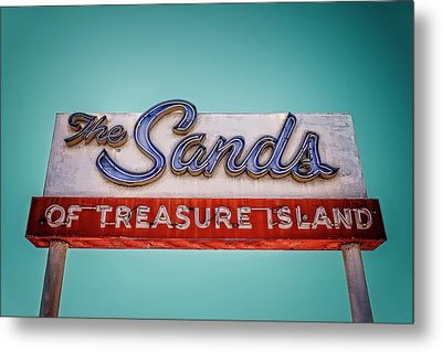 The Sands Metal Print by Jerry Golab
