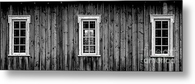 Metal Print featuring the photograph The School House by Brad Allen Fine Art