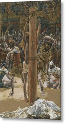 The Scourging On The Back Metal Print by Tissot