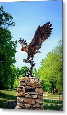 The Sentry At Honor Heights Park Metal Print