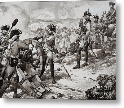 The Seven Years' War Metal Print by Pat Nicolle