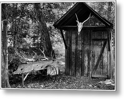 The Shack Metal Print by Wade Courtney