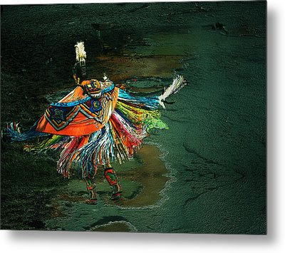 The Shaman Metal Print by Irma BACKELANT GALLERIES