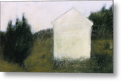 The Shed Metal Print by Ruth Sharton
