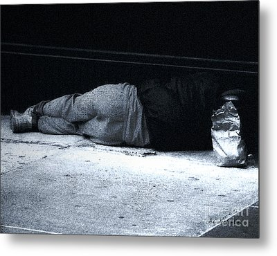 Metal Print featuring the photograph The Sidewalks Of New York by RC deWinter
