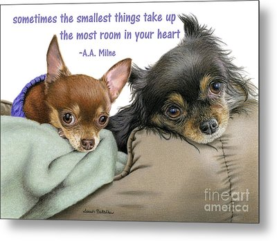 The Smallest Things Metal Print
