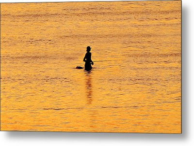 The Son Of A Fisherman Metal Print by David Lee Thompson