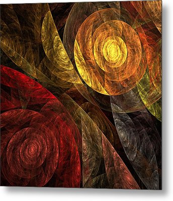 The Spiral Of Life Metal Print by Oni H