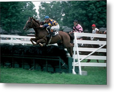 The Steeplechase Metal Print by Marc Bittan