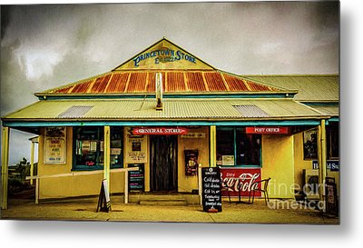 Metal Print featuring the photograph The Store by Perry Webster