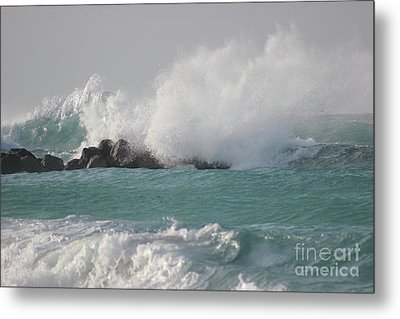 The Storm In My Head Metal Print