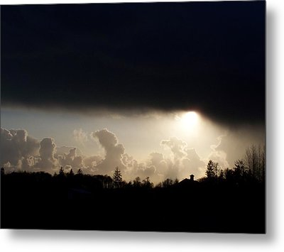 The Storm V Metal Print by Laurie Kidd