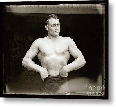The Strong Man Metal Print by Jon Neidert