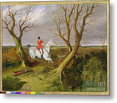 The Suffolk Hunt - Gone Away Metal Print