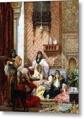 The Sultan's Favorites, 1875  Metal Print