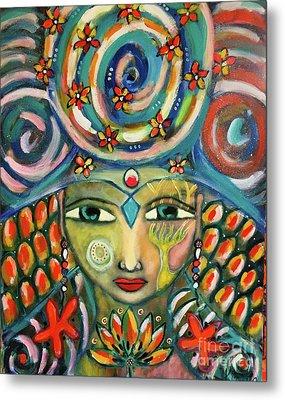 The Sun Goddess  Metal Print