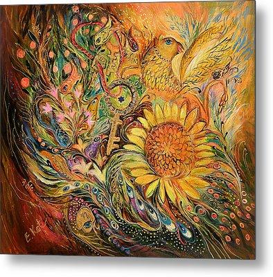 The Sunflower Metal Print by Elena Kotliarker